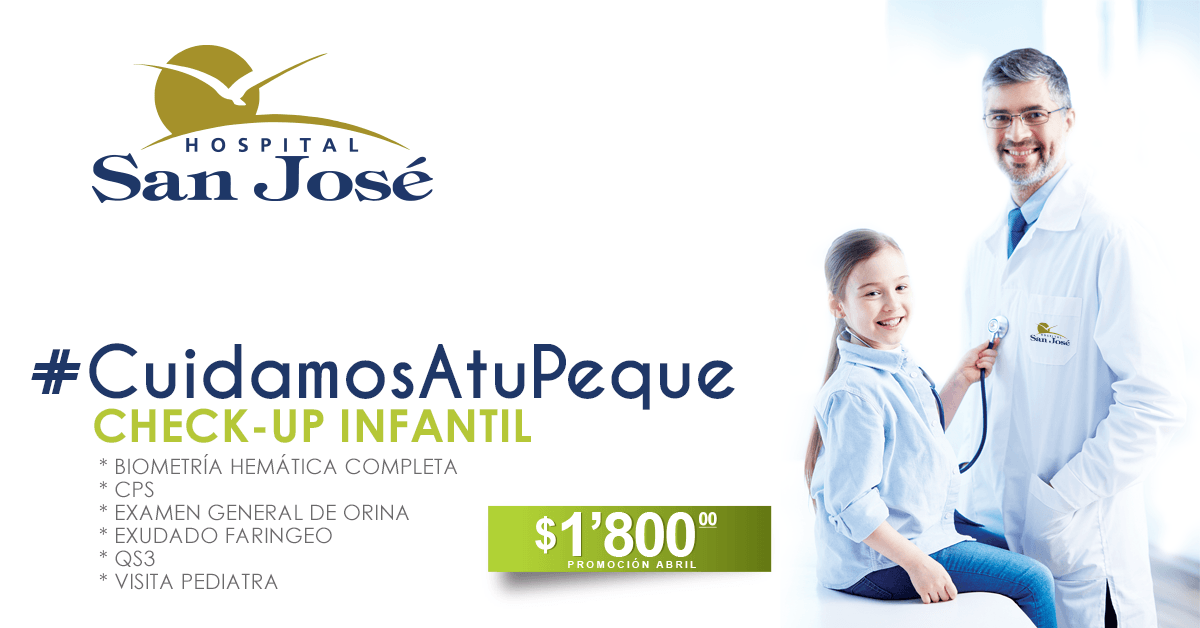 Check-Up Infantil #CuidamosAtuPeque